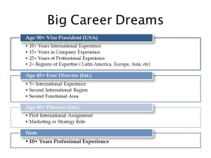 Your Big Career Dreams