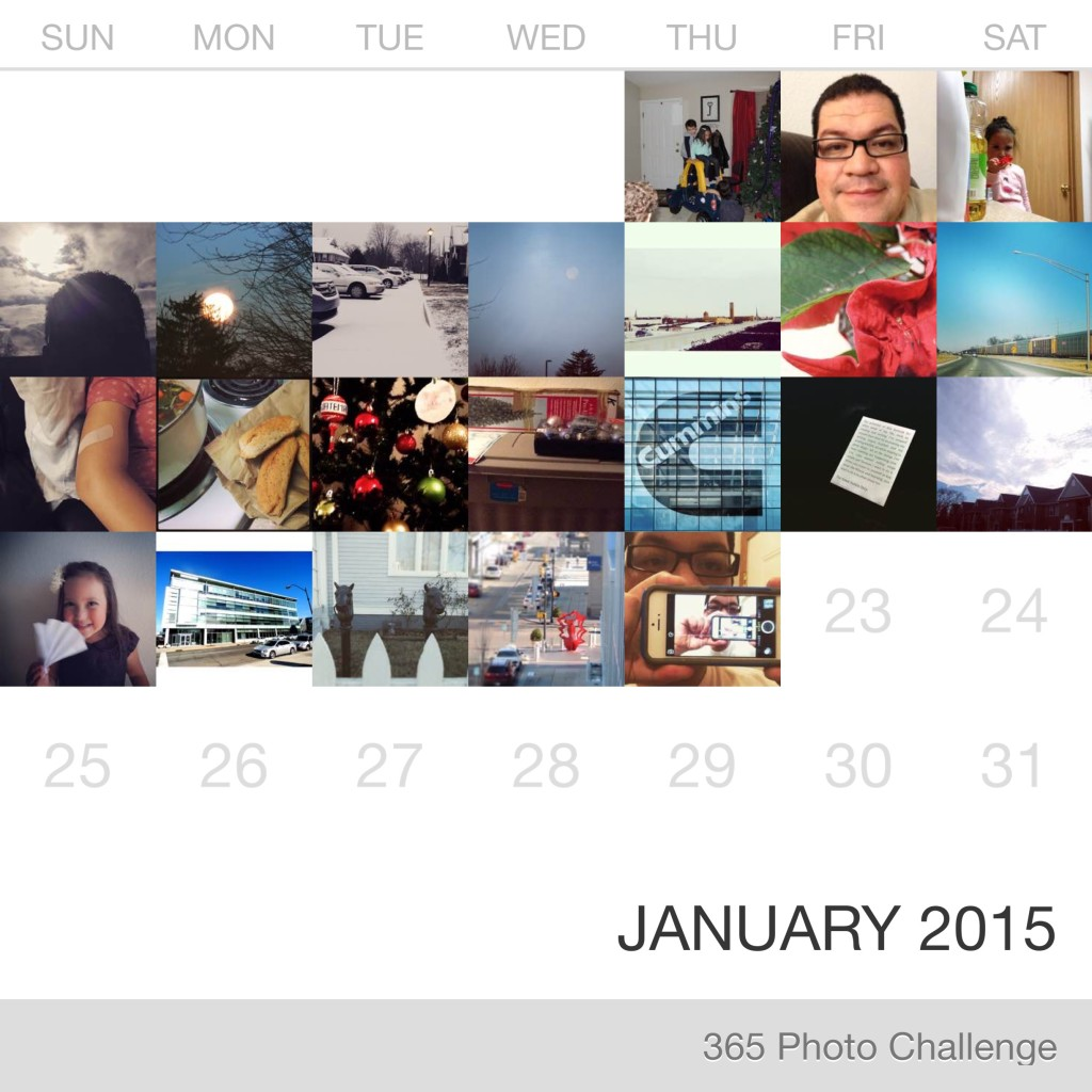 Calendar using Collect